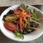 フジヤマ キッチン - パスタランチのサラダ