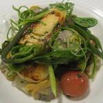 リエゾン - 春の旬菜と大アサリのフリカッセ