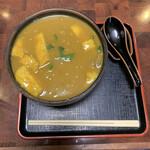 Hinodeudon - 特カレーうどん中辛 1,050円