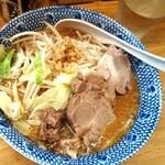 らーめん きじとら - 料理写真:味噌らーめん・細麺・並・しょうが 700円