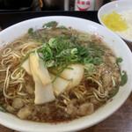 尾道ラーメン 一丁 - 日替わり定食