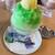 トリアノン - かき氷・メロン&バニラ(641円)