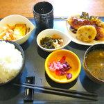 志茂川 - 料理写真:日替わりランチ ご飯大盛り