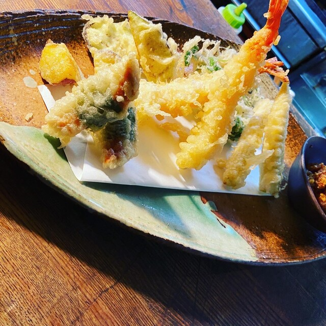 板蕎麦 山灯香の料理の写真