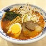 フードコート 門 - うま辛麺750円