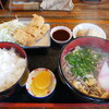 お食事処 峠 - 料理写真:峠定食(そば)ご飯大盛(笑)