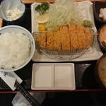 Nomotoya - 特選ロースカツ定食1,950円(税込) 202008