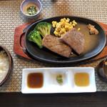 和 - 高千穂牛サーロインステーキランチ3300円