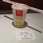 マクドナルド - 2012/06 マックシェイク チョコレート(S)100円