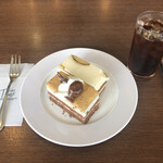 134334297 - ケーキセット:お好みのケーキ(2種)とドリンク(1杯)1300円