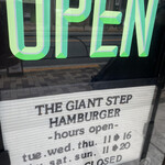 THE GIANT STEP -