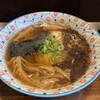 カミカゼ - 料理写真:醤油焦がしねぎラーメン
