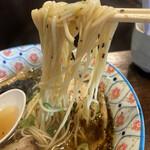 自家製麺カミカゼ - 麺with焦がしネギ