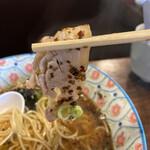 自家製麺カミカゼ - チャーシューwith焦がしネギ
