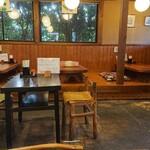 江戸そば 梅の木 - 店内の様子
