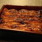 うなぎ 魚政 - 2012.6 うなぎ坂東太郎うな重特上(5,500円)