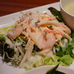 リンクス紅茶と洋酒の店 - ポテトと小海老の明太子サラダ