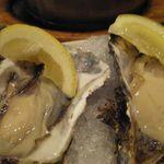 かき小屋 - 生牡蠣、ぷりっぷり