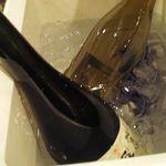 かき小屋 - 持ち込みの、白ワイン、日本酒など