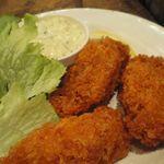 かき小屋 - 牡蠣フライ