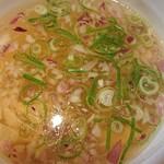 らぁ麺 鳳仙花 - つけ汁