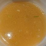 らぁ麺 鳳仙花 - スープ割り