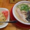 盛多や - 料理写真:ラーメンセット(ラーメン+半焼き飯)