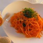 自然派レストランナート - このオレンジ、