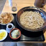 ウエスト - 料理写真:そばのかき揚げ丼セット