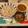 武蔵野 伝統の味 涼太郎 - 料理写真:ダブルつけめん(肉汁+ミニカレー汁)
