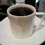 カフェビアンコ - モーニングセットのホットコーヒー拡大
