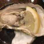 与五郎寿司 - 蒸し牡蠣