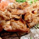 とり焼一 - 鶏モモアップ