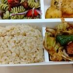 パリヤ - 玄米、回鍋肉 ♪