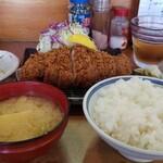 とんかつ よしみ - 料理写真:上ロースカツ定食