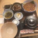 料理 萬口 - お茶漬け満腹セット 2100円
