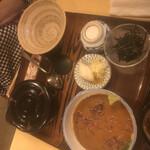料理 萬口 - お茶漬けセット 1550円