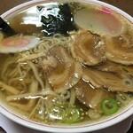 つばくら食堂 - 料理写真:チャーシューメン 680円