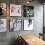奈良食堂 - おしゃれな店内。