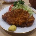 13439555 - ロースカツ定食
