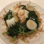 神戸元町別館牡丹園 - 三鮮炒麺