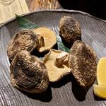 なまはげ - 原木椎茸塩焼き