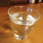 ウチョウテン - お水