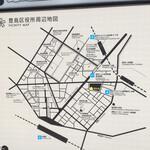 ウチョウテン - 周辺地図