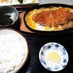 13440922 - カツ煮定食 夜