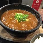 博多一口肉餃子 一ロ - 麻婆豆腐