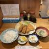 丸幸洋食店 - 料理写真:あじフライ定食('20/08/06)