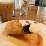 ナス・ショウゾウ カフェ - ケーキシエスタ チーズケーキ