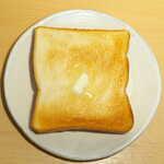 北原製パン - トーストすると、サクッと快い食感に焼き上がる。高級食パンでなくても、十分美味しい