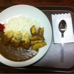 蔵 - 料理写真:裏メニューのギョウザ&ポテトカレー